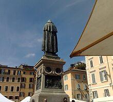 The heart of Rome - Campo de' fiori by Daniela Cifarelli