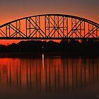 Sunset Bridge  by kelleybear