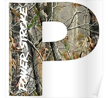 Camo Power Stroke Poster