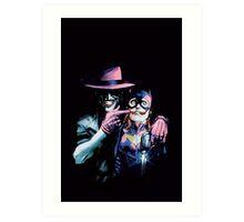 Joker - Batgirl/Batman 41 cover variant  Art Print