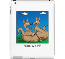 Grow up! iPad Case/Skin