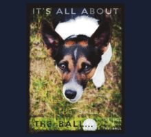 Terrier Obsession: It's All About The Ball Kids Clothes