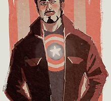 Tony in Captain Gear by ZartbitterSalat