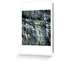 The Weeping Wall Greeting Card