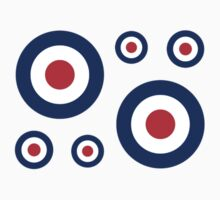 Classic Roundel Target Graphic by Garaga