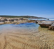 Wyliabrup Beach Rock Pool by Luke Martin