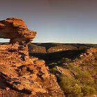 Nature's Window Panorama by Luke Martin