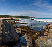 Wyliabrup Rocks Panorama by Luke Martin