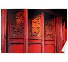 Red Doors Poster