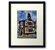 The Old English Gentleman Framed Print