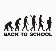 Evolution Back to school by Designzz