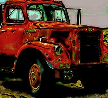 Vintage Truck by Christina Stanley