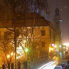 City at night by MarekM