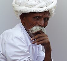 THE THINKER - RAJASTHAN by Michael Sheridan