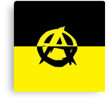 Voluntaryism is Anarchy Canvas Print