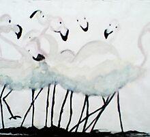 Pecking Order by Carol Berliner