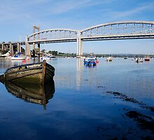 Tamar Bridges  by DonDavisUK
