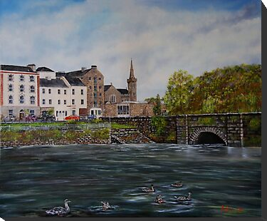 """Kilrush - Cill Rois"" - Oil Painting by Avril Brand"