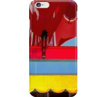 Plastic - Wavy Red, Scalloped Yellow iPhone Case/Skin