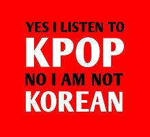 I LISTEN TO KPOP - RED by CynthiaAd