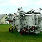 OLD THRESHING MACHINE by Larry Trupp