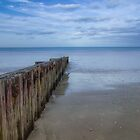 South Beach groyne by Jan Pudney