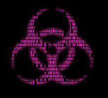Binary Biohazard (Pink) by Grim-Dork