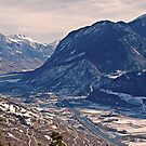 Rhine Valley-Switzerland – Alpes  by rosiczka