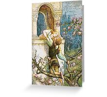 ROMEO AND JULIET VINTAGE Greeting Card