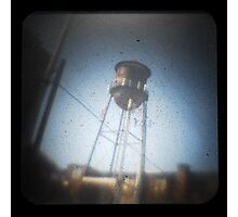 TtV Water Tower Photographic Print