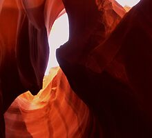 Antelope Slot Canyon  by Martina Fagan