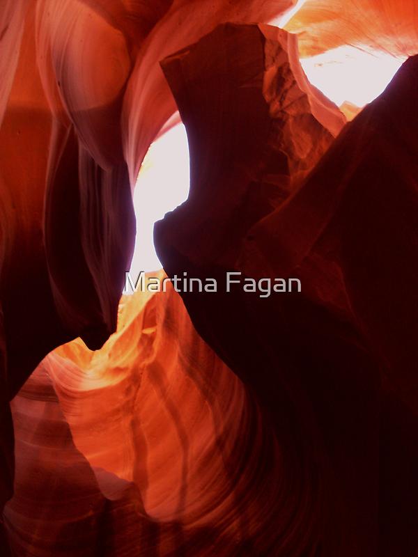 Antelope Slot Canyon  by Martina Fagan