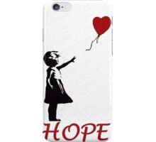 Banksy girl iPhone Case/Skin