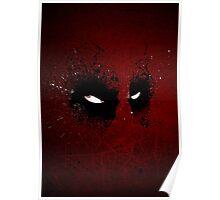 Paint Splatter Villaines : Deadpool Poster