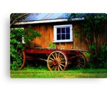 Pioneer Wagon Canvas Print