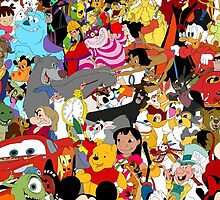 Cartoon Characters by UniqueCase