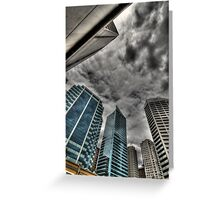 A Storm on Sydney  Greeting Card