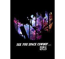 Cowboy Bebop - Nebula Photographic Print