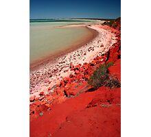 """Desert, meet Ocean..."" Monkey Mia, Western Australia Photographic Print"