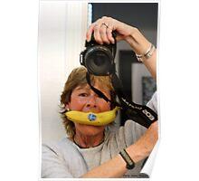 Banana Mouth Smile! Poster