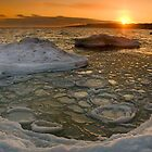 Icy Sunset by Chiller