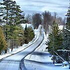 Vermont Country Landscape by Deborah  Benoit