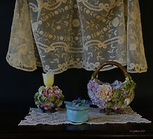 Lace and Porcelain by Gilberte
