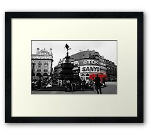 Picadilly Framed Print