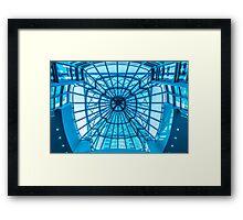 Metro Hall Framed Print