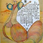The Rooster. Chinese Horoscpe by MardiGCalero
