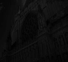 Exeter Cathedral in greys by RCrabb