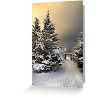 January 30 Greeting Card