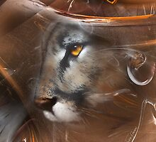 Cougar Puma panther animals,wildlife,wildlife art,nature by JackieFlaten