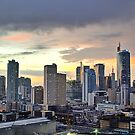Sunset Over Makati City (Manila) by NeilAlderney
